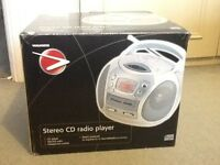 Stereo CD and Radio player