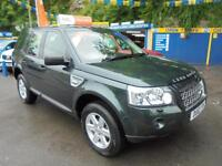 2010 10 LAND ROVER FREELANDER 2.2 TD4 E GS IN GALWAY GREEN # FSH 6 SERVICES #