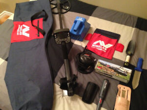 MineLab E-Trac Metal Detector + Accessories. SAVE OVER $1,300
