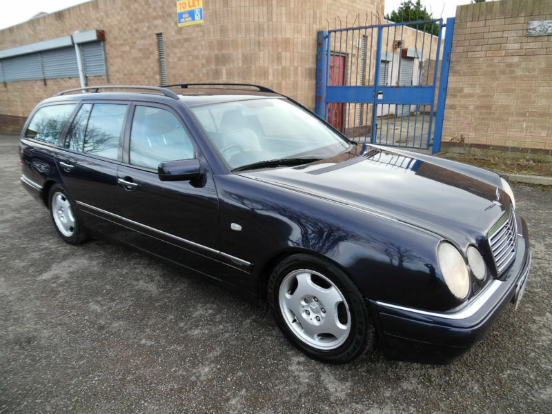 1999 mercedes e300 turbo diesel avantgarde 7 seat diesel for Mercedes benz e300 turbo diesel for sale