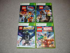 XBOX 360 LEGO Video Games!