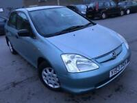 2001 Honda Civic 1.4 i S 5dr