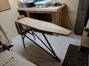 Wood Ironing Board