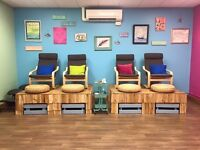 Nail Tech and Estheticians Full and Part Time