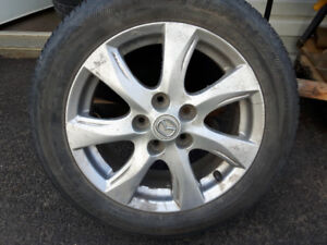 mazda 3 pneus et mag