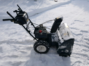8.5 hp 27 in snowblower