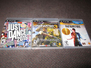 Autumn Assortment of PS3 Games - NEW, store-opened $15 -$18