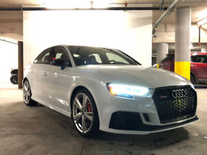 2018 Audi RS3 Sedan - Lease Takeover/Buyout -