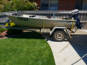 """11"""" savage dinghy with 9.5 hp motor"""
