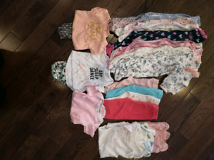 Baby girl lot 0-3 months