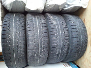 2 Sets of Winter Tires w/Black Rims London Ontario image 1