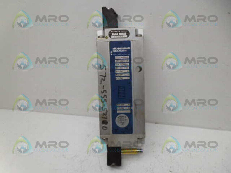 REXROTH 5725555270 DIRECTIONAL VALVE *USED*