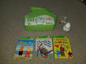 Leapfrog Tag Junior w/ Case and 3 books