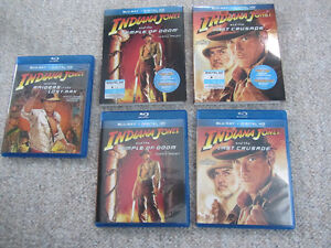 Indiana Jones Movies on Blu-Ray - 3 To Choose From