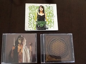 (3) Bring me the Horizon Cd's AND Double Cd & DVD Set