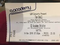 SOLD OUT Tom Odell tickets Brixton Academy