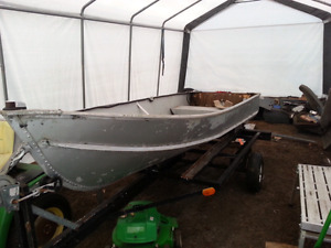 Boat and trailer sold still have motor
