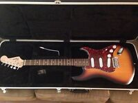 Squire Strat and Case