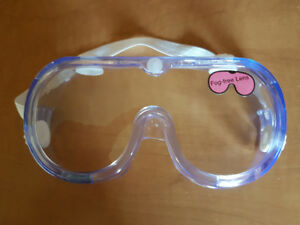 Box of 10 Safety Goggles (Brand New)