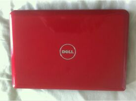 """DELL INSPIRON MINI 10 LAPTOP/NETBOOK 10.1"""" RED"""