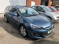 2012 Vauxhall Astra 1.6 SRI 5d 113 BHP Estate Petrol Manual
