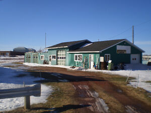 2 1/3 acres and building at 23 Park Avenue, O'Leary, P.E.I. for