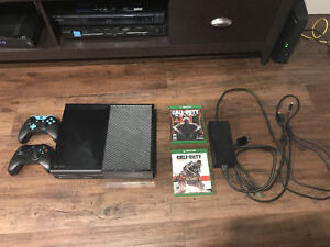 Xbox One w/ Scuf Gaming + Default Controller & Two Games