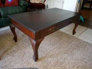 New Dark Mahogany Coffee Table