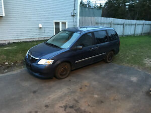 2003 Mazda MPV Minivan, AS IS