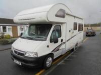 SWIFT SUNDANCE 590, REAR U LOUNGE, 4 BERTH, GASLOW LPG SYSTEM, NEW CAM BELT