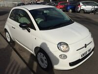 Fiat 500 POP, 2008, 1.2 petrol, 3dr, Long MOT