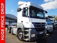 2012 Mercedes-Benz Axor 2543 LS HRS, Long Distance Trim High Roof Sleeper Cab Pa