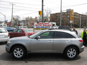 **2005 Infinitti FX35 AWD** Auto, Certified & E-tested