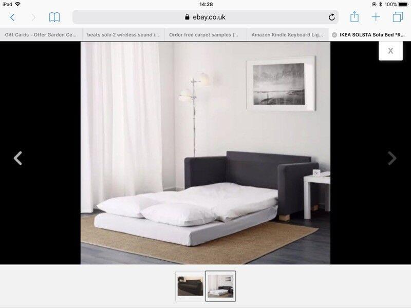 IKEA Sofa Bed. Grey.