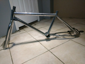 Old school bmx frame