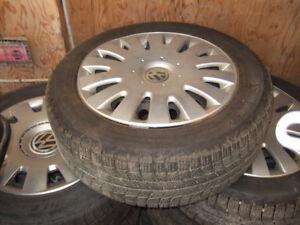 205/55/16 michelin winter tires for v/w