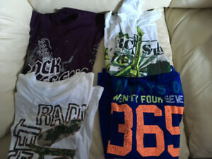 Boy's Long Sleeve Graphic Tees - Size 10/12 ---- $15 For All 8