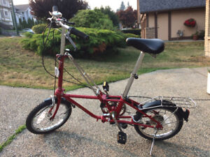 Vintage Dahon Folding Bike