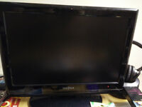 "Insignia 19"" LCD TV/DVD HDMI Flat Screen TV Monitor"