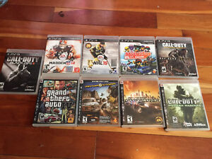PS3 For Sale - Games, Controller, Charger