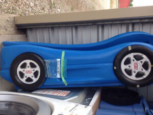 Toddler race car bed for sale.