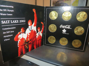 2002 Salt Lake Team Canada Hockey Coin Set