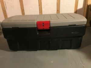 Rubbermaid ActionPacker Lockable Storage Box, 44inch, 48 gallon