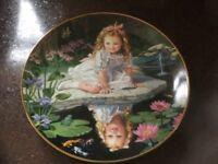 Monday's Child Wall Plate by Danbury Mint