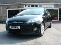 2012 61 Ford Focus 1.6TDCi Titanium 5d **£20 Tax / New MOT**