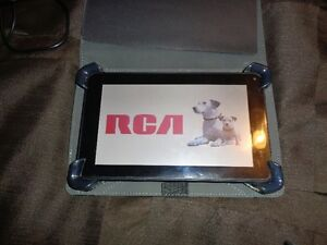 "RCA 7"" 8GB tablet, with case and headset"