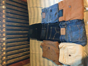 7 Pairs of Men's Brand Name Pants (29-32 waist, 30-32 length)
