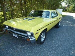 1971  NOVA 4 SPEED MATCHING NUMBERS