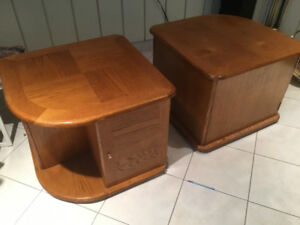 Tables basses duo