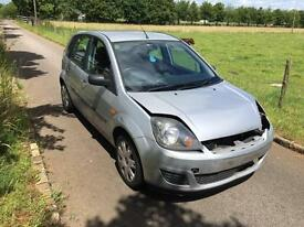 2006 56 Ford Fiesta 1.4 TDCI Diesel - UNRECORDED DAMAGED - HPI CLEAR -